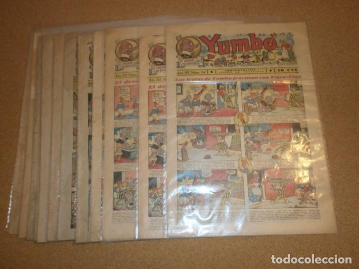 YUMBO _ EL ELEFANTE SABIO. HISPANO AMERICANA (Tebeos y Comics - Hispano Americana - Yumbo)