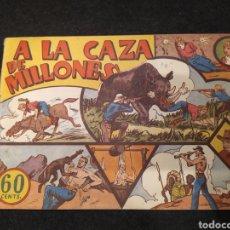 Tebeos: JORGE Y FERNANDO. A LA CAZA DE MILLONES. HISPANO AMERICANA .1940 ORIGINAL. Lote 195892148
