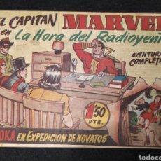 Tebeos: EL CAPITÁN MARVEL EN LA HORA DEL RADIOYENTE. NUM 61.HISPANO AMERICA. 1947. ORIGINAL.. Lote 195897118
