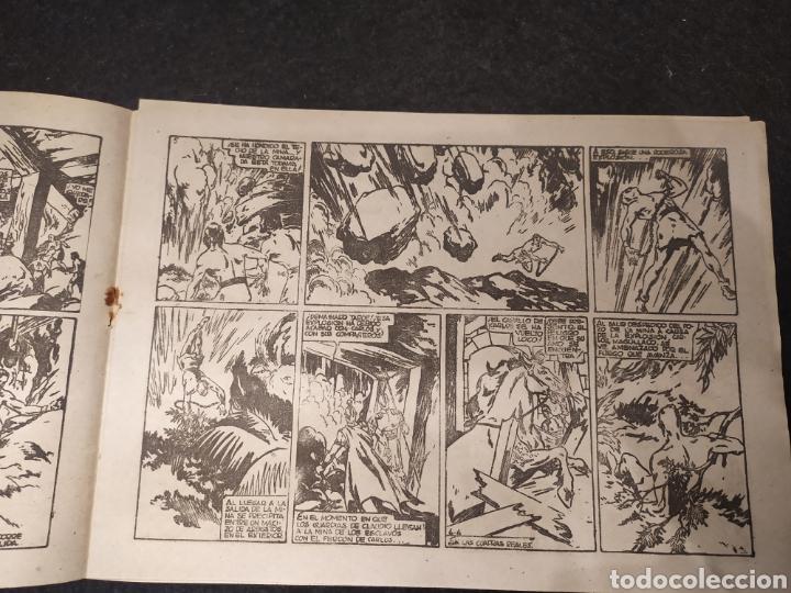 Tebeos: Carlos el intrépido, numero 6. El Valle de los Hombres Verdes. Original. Hispano america - Foto 4 - 195975008