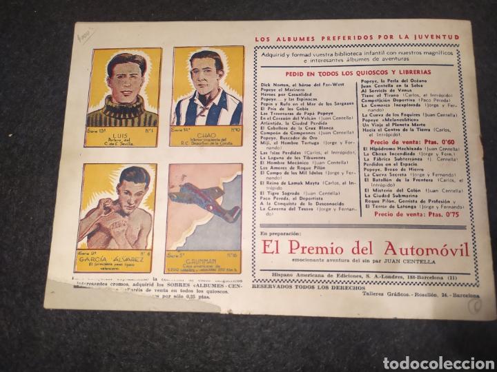 Tebeos: Carlos el intrépido, numero 6. El Valle de los Hombres Verdes. Original. Hispano america - Foto 6 - 195975008