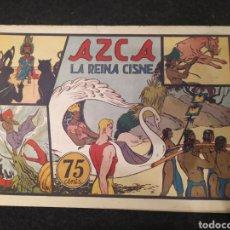 Tebeos: CARLOS EL INTRÉPIDO, AZCA LA REINA CISNE. NUMERO 8. ORIGINAL. HISPANO AMERICA. Lote 195975796