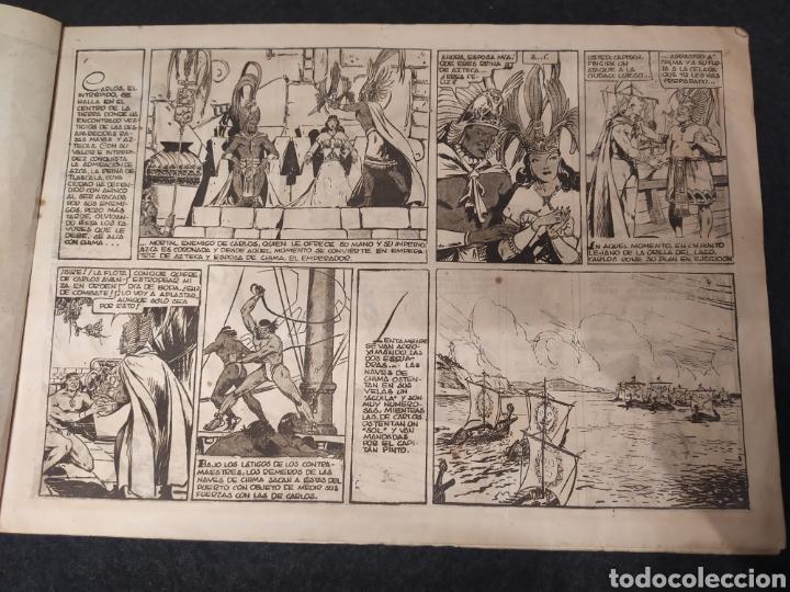 Tebeos: Carlos el intrépido, El combate. Numero 10. Original. Hispano america. Formato grande - Foto 2 - 195976695
