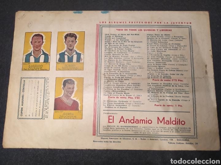 Tebeos: Carlos el intrépido, El combate. Numero 10. Original. Hispano america. Formato grande - Foto 4 - 195976695