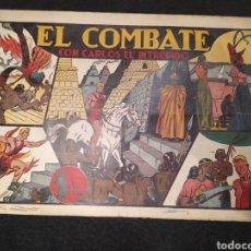 Tebeos: CARLOS EL INTRÉPIDO, EL COMBATE. NUMERO 10. ORIGINAL. HISPANO AMERICA. FORMATO GRANDE. Lote 195976695