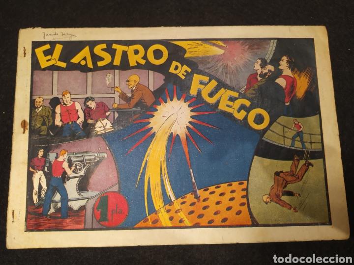 CARLOS EL INTRÉPIDO, EL ASTRO DE FUEGO. NUMERO 15. ORIGINAL. HISPANO AMERICA. FORMATO GRANDE (Tebeos y Comics - Hispano Americana - Carlos el Intrépido)