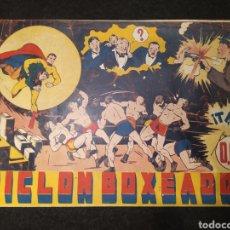 Tebeos: CICLON, CICLON BOXEADOR. NUMERO 2. HISPANO AMÉRICA. ORIGINAL AÑOS 40. Lote 195980001