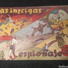 Tebeos: CICLON, LAS INTRIGAS DEL ESPIONAJE. NUMERO 7. HISPANO AMÉRICA. ORIGINAL AÑOS 40. Lote 195981503