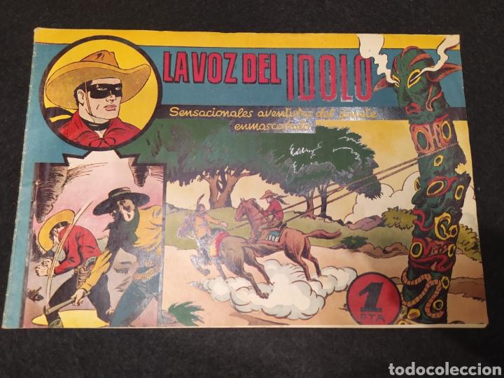 EL JINETE ENMASCARADO. LA VOZ DEL IDOLO. HISPANO AMÉRICA. ORIGINAL AÑOS 40. (Tebeos y Comics - Hispano Americana - Otros)
