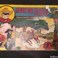 Tebeos: EL JINETE ENMASCARADO. LA VOZ DEL IDOLO. HISPANO AMÉRICA. ORIGINAL AÑOS 40.. Lote 195985056