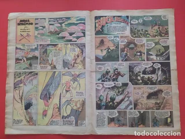 Tebeos: Antiguo tebeo comic serie Tim Tyler años 30 número 55. 18 de junio de 1937 - Foto 2 - 196157328