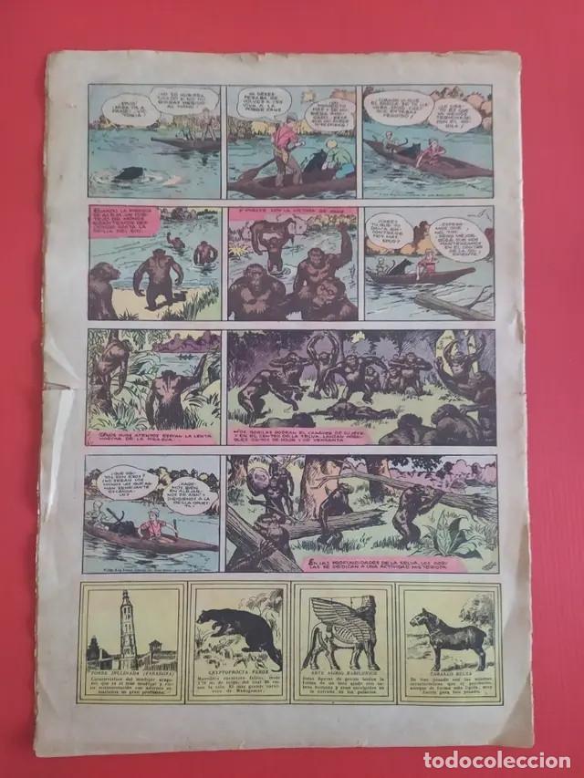 Tebeos: Antiguo tebeo comic serie Tim Tyler años 30 número 55. 18 de junio de 1937 - Foto 3 - 196157328