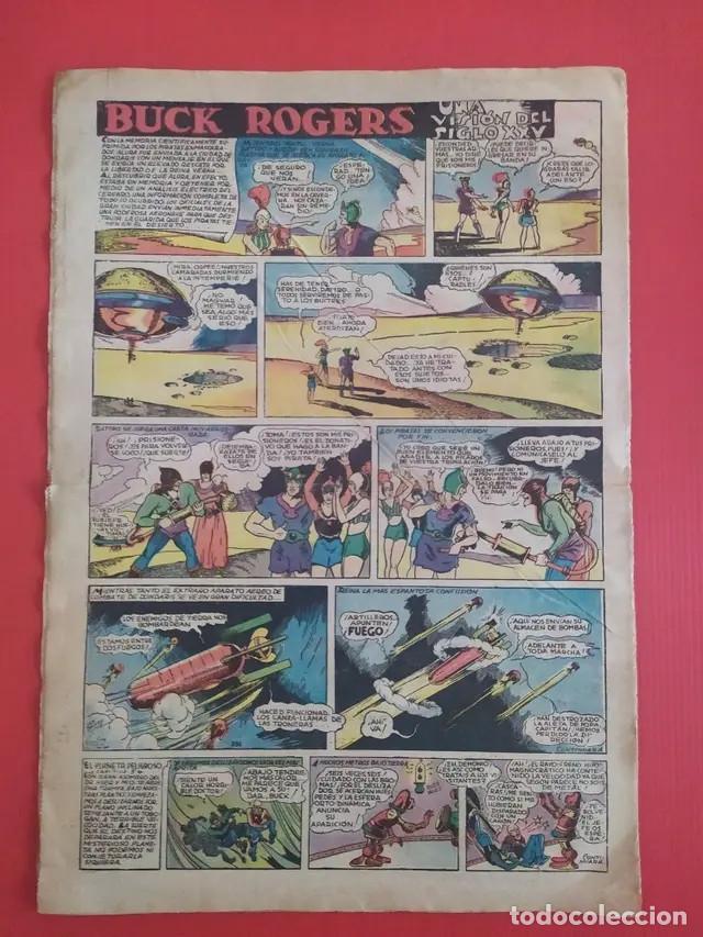 Tebeos: Antiguo tebeo comic serie Tim Tyler años 30 número 13. 16 de julio de 1936 - Foto 3 - 196157488