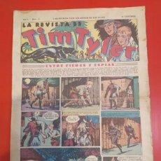 Tebeos: ANTIGUO TEBEO COMIC SERIE TIM TYLER AÑOS 30 NÚMERO 11. 2 DE JULIO DE 1936. Lote 196157651