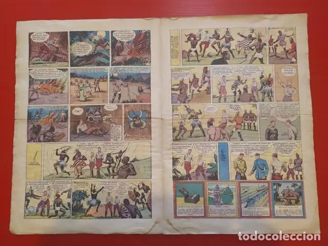 Tebeos: Antiguo tebeo comic serie Tim Tyler años 30 número 11. 2 de julio de 1936 - Foto 2 - 196157651