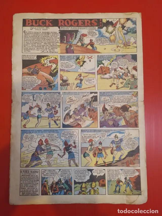 Tebeos: Antiguo tebeo comic serie Tim Tyler años 30 número 11. 2 de julio de 1936 - Foto 3 - 196157651