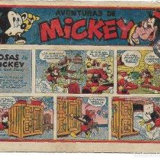 Tebeos: AVENTURAS DE MICKEY - ORIGINAL. Lote 196511173