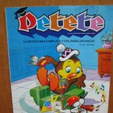 Tebeos: LOTE TEBEOS EL LIBRO GORDO DE PETETE. Lote 196540735