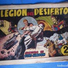 Tebeos: LA LEGIÓN DEL DESIERTO. FLASH FLAS GORDON. HISPANO AMERICANA, 1940'S.. Lote 196903903