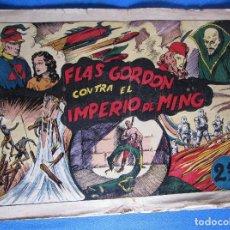 Tebeos: FLAS GORDON CONTRA EL IMPERIO DE MING. FLASH FLAS GORDON. HISPANO AMERICANA, 1940'S.. Lote 196905640