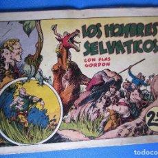 Tebeos: LOS HOMBRES SELVÁTICOS. CON FLASH FLAS GORDON. HISPANO AMERICANA, 1940'S.. Lote 196906441