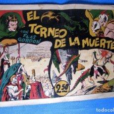 Tebeos: EL TORNEO DE LA MUERTE. CON FLASH FLAS GORDON. HISPANO AMERICANA, 1940'S.. Lote 196911197