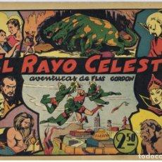 Tebeos: FLASH GORDON. (1942) HISPANO AMERICANA. COMPLETA. Lote 196923490