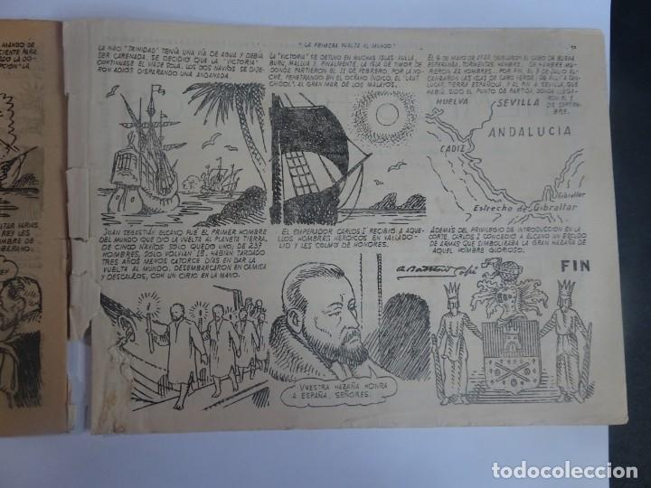 Tebeos: ANTIGUO COMIC TIEMPOS HEROICOS 31, LA PRIMERA VUELTA AL MUNDO, HISPANO AMERICANA ,VER FOTOS - Foto 5 - 197072550