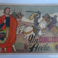 Livros de Banda Desenhada: ANTIGUO COMIC TIEMPOS HEROICOS 34, UN CABALLERO DE ÁVILA, HISPANO AMERICANA ,VER FOTOS. Lote 197072621