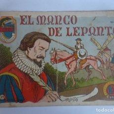 Tebeos: ANTIGUO COMIC TIEMPOS HEROICOS 25, EL MANCO DE LEPANTO, HISPANO AMERICANA ,VER FOTOS. Lote 197072773