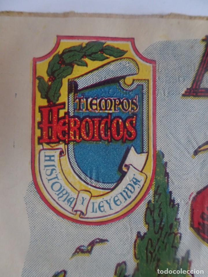 Tebeos: ANTIGUO COMIC TIEMPOS HEROICOS 22, EL PRÍNCIPE DON CARLOS, HISPANO AMERICANA ,VER FOTOS - Foto 3 - 197072951