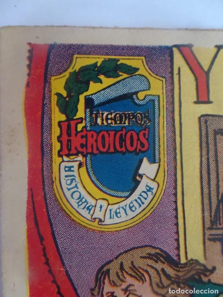 Tebeos: ANTIGUO COMIC TIEMPOS HEROICOS 47, Y VENCIÓ DESPUÉS DE MUERTO, HISPANO AMERICANA ,VER FOTOS - Foto 3 - 197073188