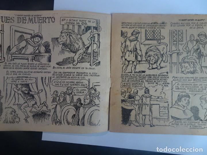 Tebeos: ANTIGUO COMIC TIEMPOS HEROICOS 47, Y VENCIÓ DESPUÉS DE MUERTO, HISPANO AMERICANA ,VER FOTOS - Foto 4 - 197073188