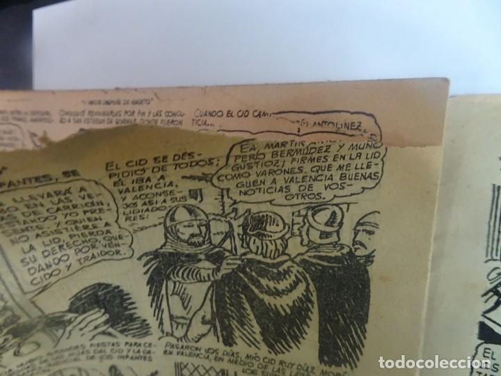 Tebeos: ANTIGUO COMIC TIEMPOS HEROICOS 47, Y VENCIÓ DESPUÉS DE MUERTO, HISPANO AMERICANA ,VER FOTOS - Foto 5 - 197073188