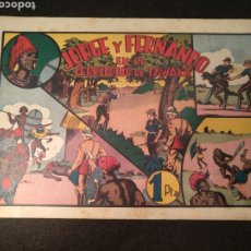 Livros de Banda Desenhada: JORGE Y FERNANDO EN EL TERRITORIO DE TAWAKA, HISPANO AMERICANA. ORIGINAL. Lote 197171313