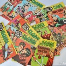 Tebeos: GRAN LOTE 39 NÚMEROS. FLASH GORDON. COLECCIÓN HÉROES MODERNOS. SERIE B. EDITORIAL DOLAR. MADRID,1958. Lote 197234570