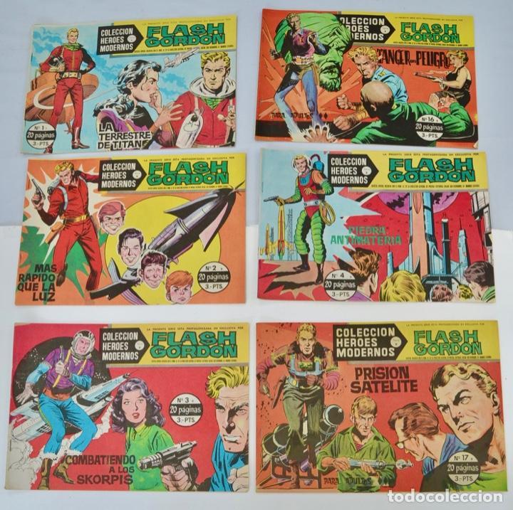 Tebeos: Gran Lote 39 Números. Flash Gordon. Colección Héroes Modernos. Serie B. Editorial Dolar. Madrid,1958 - Foto 2 - 197234570