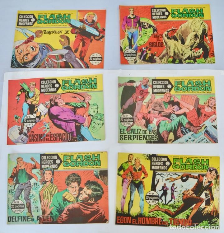 Tebeos: Gran Lote 39 Números. Flash Gordon. Colección Héroes Modernos. Serie B. Editorial Dolar. Madrid,1958 - Foto 4 - 197234570