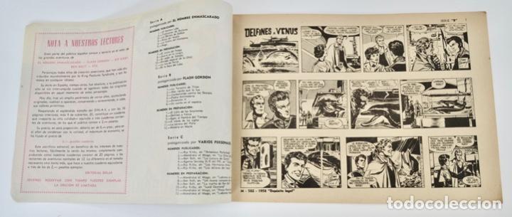 Tebeos: Gran Lote 39 Números. Flash Gordon. Colección Héroes Modernos. Serie B. Editorial Dolar. Madrid,1958 - Foto 5 - 197234570