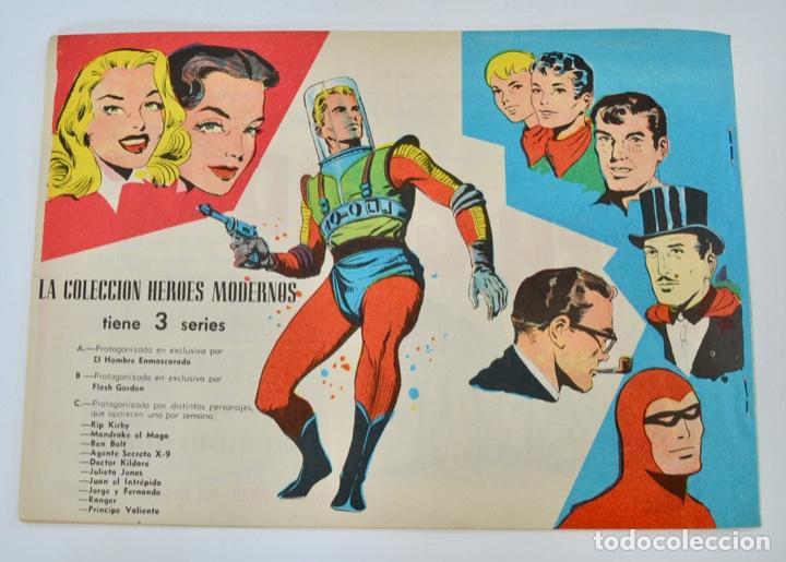 Tebeos: Gran Lote 39 Números. Flash Gordon. Colección Héroes Modernos. Serie B. Editorial Dolar. Madrid,1958 - Foto 7 - 197234570