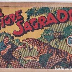 Tebeos: JUAN CENTELLA,EL TIGRE SAGRADO. Lote 197274192