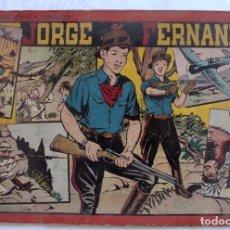 BDs: COLECCION JORGE Y FERNANDO. AVENTURAS DE JORGE Y FERNANDO. Nº 8. HISPANO AMERICANA DE EDICIONES. Lote 197511940