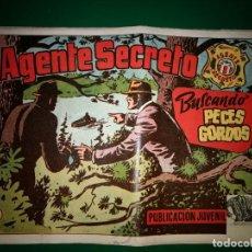 BDs: AGENTE SECRETO HISPANO AMERICANA Nº 13 ORIGINAL AÑO 1958- MEL GRAFF. Lote 197631341