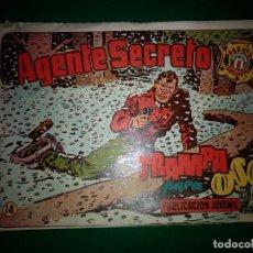 Tebeos: AGENTE SECRETO HISPANO AMERICANA Nº 14 ORIGINAL AÑO 1958- MEL GRAFF. Lote 197632220