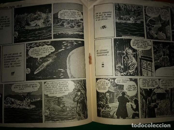 Tebeos: AGENTE SECRETO HISPANO AMERICANA nº 14 original año 1958- MEL GRAFF - Foto 3 - 197632220