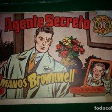 BDs: AGENTE SECRETO HISPANO AMERICANA Nº 18 ORIGINAL AÑO 1958- MEL GRAFF. Lote 197632353