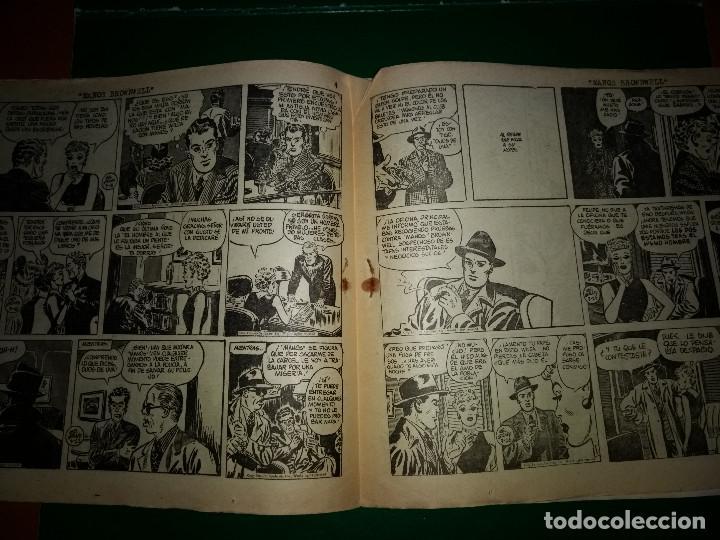 Tebeos: AGENTE SECRETO HISPANO AMERICANA nº 18 original año 1958- MEL GRAFF - Foto 3 - 197632353