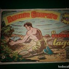 BDs: AGENTE SECRETO HISPANO AMERICANA Nº 5 ORIGINAL AÑO 1958- MEL GRAFF. Lote 197632898