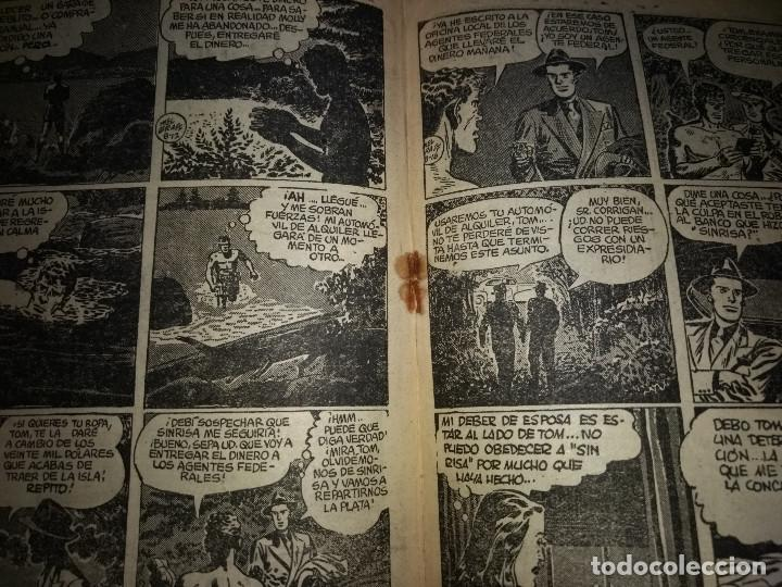 Tebeos: AGENTE SECRETO HISPANO AMERICANA nº 5 original año 1958- MEL GRAFF - Foto 3 - 197632898