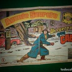 Tebeos: AGENTE SECRETO HISPANO AMERICANA Nº 6 ORIGINAL AÑO 1958- MEL GRAFF. Lote 197633012